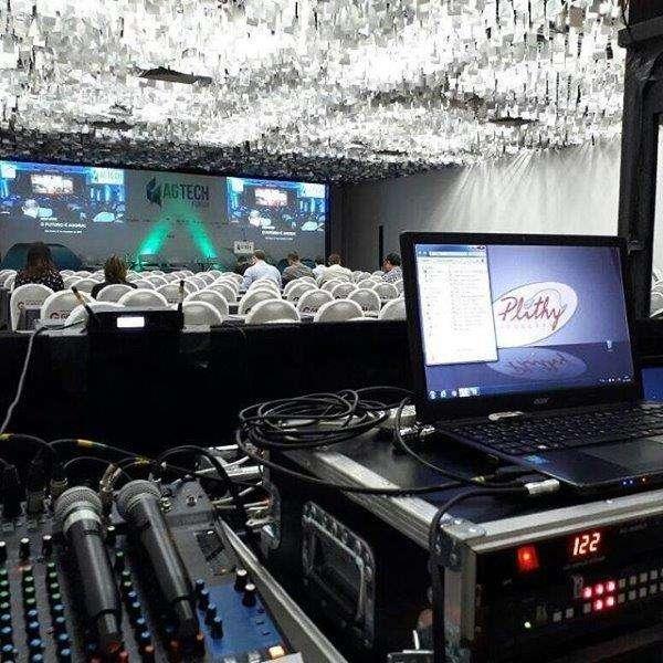 Aluguel de equipamentos audiovisuais