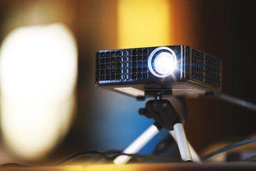 Empresa de locação de projetores