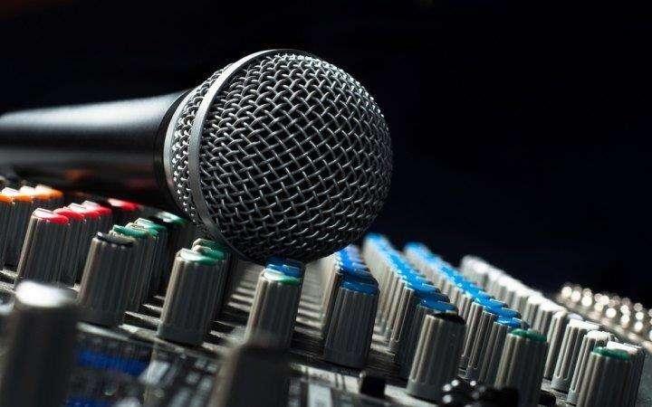 Locação de microfone