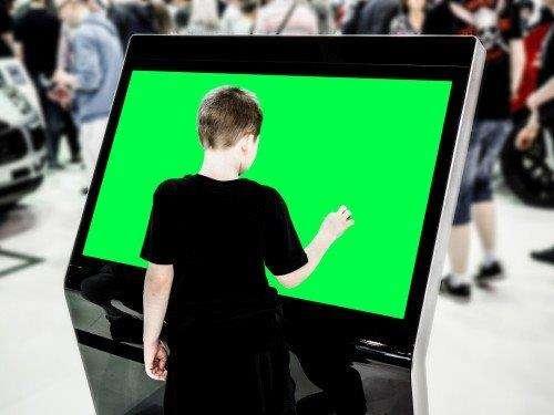 Locação tv touch screen